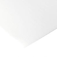Lastra polionda polipropilene alveolare bianco 100 cm x 100 cm, Sp 2.5 mm