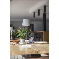 Lampada da esterno Kelly H 39 cm, in alluminio, luce bianco, LED integrato IP54