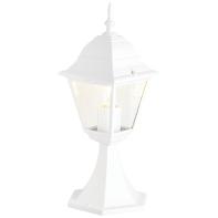 Palo della luce Newport H41cm in alluminio, bianco, E27 1xMAX60W IP23 BRILLIANT