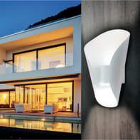 Applique Fastro LED integrato in acciaio inox, bianco, 2.5W 360LM IP44 EGLO