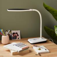 Lampada da scrivania Moderno Mesquite bianco , INSPIRE