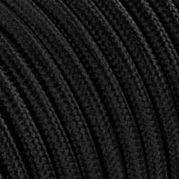 Cavo tessile MERLOTTI 2 fili x 0,75 mm² nero 5 metri