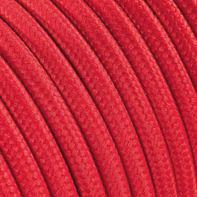 Cavo tessile MERLOTTI 2 fili x 0,75 mm² rosso 5 metri