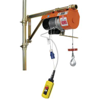 Paranco elettrico Monotiro DM 150 portata max 150 kg cavo da 25 m