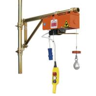 Paranco elettrico Monotiro DM 100 E portata max 100 kg cavo da 16 m