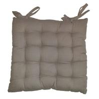 Cuscino per sedia 16 Punti naturale 38x38 cm