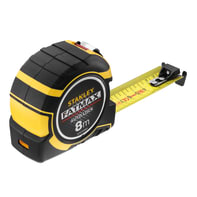 Flessometro pieghevole STANLEY Flessometro FATMAX Autolock 8m plastica 8 m