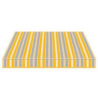 Tenda da sole a bracci estensibili TEMPOTEST PARA' L 2.4 x H 2 m Cod. 294 azzurro, giallo, avorio