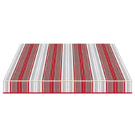 Tenda da sole a bracci estensibili manuale TEMPOTEST PARA' L 240 x H 210 cm rosso, grigio, avorio Cod. 5167/11