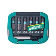 Set di inserti per avvitatori WOLFCRAFT 6 pezzi