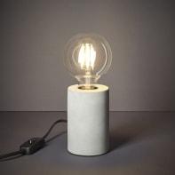 Lampada da comodino Vintage Ralee grigio , in calcestruzzo, INSPIRE