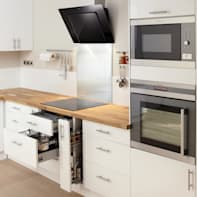 Cucina in kit DELINIA galaxy bianco