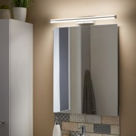 Applique moderno Up&Down LED integrato cromo, in metallo, 60.8x60.8 cm, INSPIRE