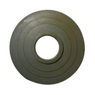 Guarnizione ricambio per scarichi WC 66 x 21.5 mm in rubber