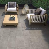 Piastrella Cemento Dark 30,8 x 61,5 cm grigio
