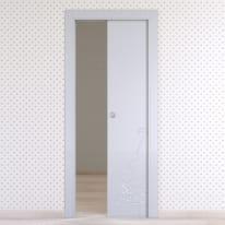 Porta da interno scorrevole Dwarf silk 70 x H 210 cm reversibile