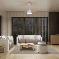 Ventilatore da soffitto con luce Gregal