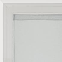 Tendina a vetro per portafinestra Leo grigio 70 x 210 cm