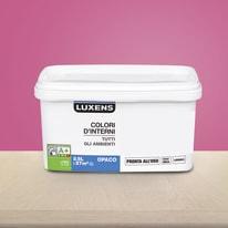 Idropittura lavabile Mano unica Rosa Blush 3 - 2,5 L Luxens