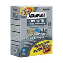 Stucco in polvere Aguaplast Operlite ruvido grigio 5 kg