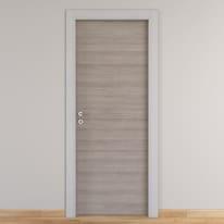 Porta da interno battente One grigio/white 60 x H 210 cm reversibile