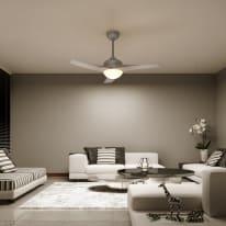 Ventilatore da soffitto con luce Guil