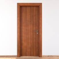 Porta per bed & breakfast battente Shatland noce biondo 80 x H 210 cm sx