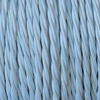 Cavo treccia tessile Merlotti 1,5 mm bianco, matassa 25 m