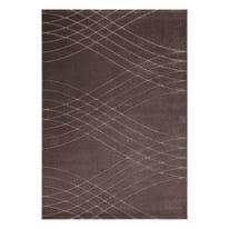Tappeto Carve Wave marrone, oro 160 x 230 cm