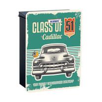 Cover per cassetta pesonalizzabile Mia Cadillac, formato rivista, L 27 x H 37 x P  0,5 cm