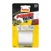 Nastro per riparare Power Tape Pattex bianco 5 m x 50 mm
