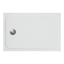 Piatto doccia resina Easy 120 x 80 cm bianco