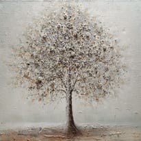 dipinto su tela Albero 100x100