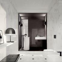 Piastrella Murano 30,5 x 56 cm bianco