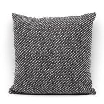 Cuscino Ares grigio retro tinta unita 40 x 40 cm