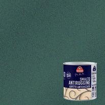 Smalto per ferro antiruggine Boero nero grana grossa antichizzato 0,5 L