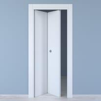 Porta da interno pieghevole Renoir bianco ventao 80 x H 210 cm sx