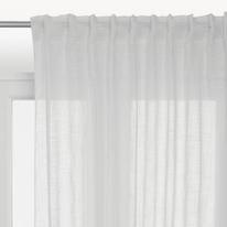 Tenda Scarlett bianco 140 x 290 cm