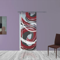 Porta da interno scorrevole Energy 88 x H 215 cm dx