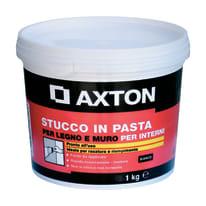 Stucco in pasta Axton liscio bianco 1 kg