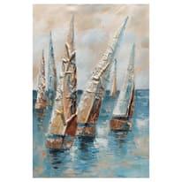 quadro dipinto a mano Vele 60x90