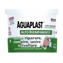 Stucco in pasta Aguaplast Alto Riempimento liscio bianco 5 kg