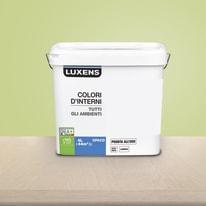 Idropittura lavabile Mano unica Verde Pistacchio 5 - 4 L Luxens