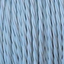 Cavo treccia tessile Merlotti 0,75 mm bianco, matassa 5 m
