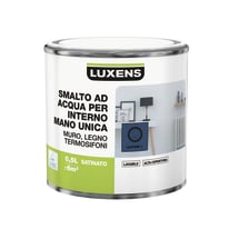 Smalto manounica Luxens all'acqua Blu Zaffiro 1 satinato 0.5 L