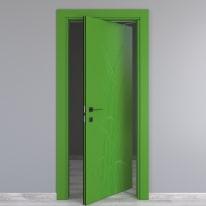Porta da interno rototraslante Blades green verde 80 x H 210 cm dx