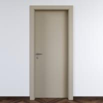 Porta da interno battente Cinder grigio 90 x H 210 cm dx