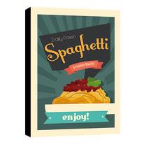 quadro su tela spaghetti 24x35 24x35