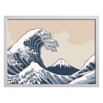 quadro su tela Hokusai 65x85