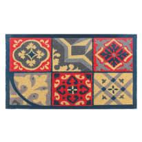 Zerbino Candy azulejos rosso 40 x 70 cm